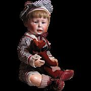 Adorable FREDDIE Character Baby #1428_Simon & Halbig_Unique Expression_