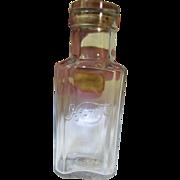 SALE Delightful 4711 Antique Cologne Bottle with Original Stopper