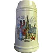SALE Munchen 20th Olympiade (1972) Beer Stein made in West Germany