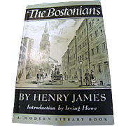 SALE The Bostonians by Henry James, HC, 1956