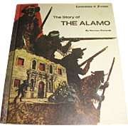 SALE The Story of The Alamo by Norman Richards 1970 2nd Printing