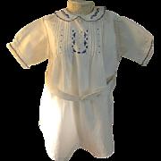SALE Charming Older Vintage Romper Suit for Child or Doll