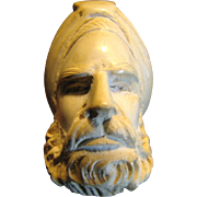 SALE Vintage Meerschaum Pipe Hand Carved Sultan