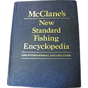 SALE McClane's New Standard Fishing Encyclopedia 1974