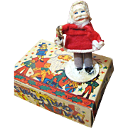 """SALE Super Antique Tiny 4"""" Belsnickle German Santa, Perfect for Doll Display!"""