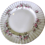 """10 3/8"""" Dinner Plate in Lavender Rose Pattern by Royal Albert (8 available)"""