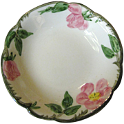 Six 1940's Desert Rose Berry Bowl by Franciscan China