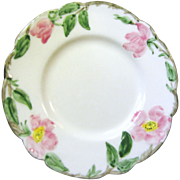 1940's B & B Plate Desert Rose Pattern by Fransican China (6 available)
