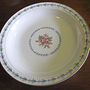 """Harmony House Mount Vernon 8"""" Rimmed Soup Bowl By Hall China"""