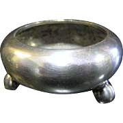 SALE Nice Victorian Silver Plated Master Salt by Mappin Brothers of London