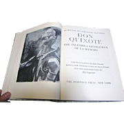 Don Quixote, 1950 Collector's Edition, Like New‏