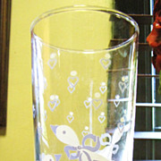 Nice Set of 6 Duck Transfer Pattern Tumblers (up to 2 sets available)