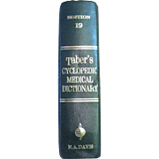 Taber's Cyclopedic Medical Dictionary 19th Edition