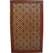 SALE Poems of John Keats, Leather Bound, 1980, Excellent