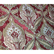 """56"""" Remant Opulent Woven Chenille Brocade, Rich Lovely Colors"""