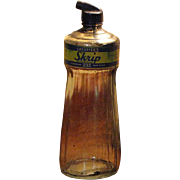 SALE 1950's, Large Sheaffers Skrip Ink Bottle, with Original Lid/Applicator