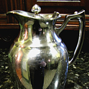 Stanley Landers Frary & Clark Mid-Century Chrome Plated Thermal Carafe