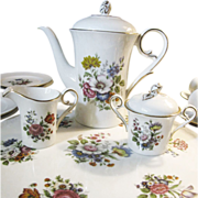 24 Piece Coffee Service by Kaiser of West Germany