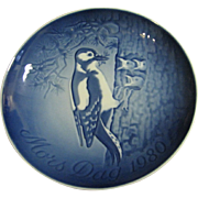 1980 Bing & Grondahl Mother's Day Plate