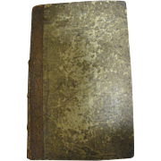 1812 German - American Evangelical Lutheran Magazine Leather Bound Rare Superb Condition For .