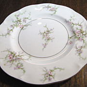"Theodore Haviland Rosalinde Pattern 7 1/2"" Salad Plate"