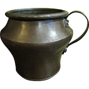 Hand Made 1800's Copper Pot, Dovetail Joints!