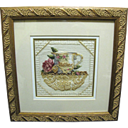 "SALE ""Mother"" Needlepoint, Beautiful, Custom Framed"
