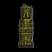 SALE Inca Soapstone Hand Carved Statue Pendant