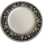 "SALE 10 3/4"" Wedgwood Florentine Dark Blue Dinner Plate (up to 7 available)"