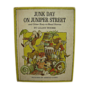 SALE Junk Day on Juniper Street and Other Easy-To-Read Stories by Lilian Moore