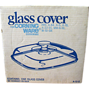 Corning Pyrex Clear Glass  A12C  Replacement Lid