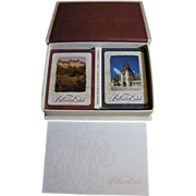 Biltmore Estate Boxed Set Limited Edition Playing Cards 2 Decks, 2 Pencils, 1 Pad