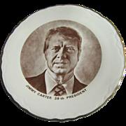 Commemorative Plate of President Jimmy Carter