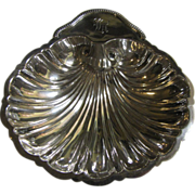 """SALE 6"""" Sterling Silver Shell Footed Bowl by Revere Silver Co."""