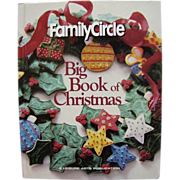 Family Circle Big Book of Christmas, 1st Edition, Hardcover, Mint