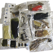 SALE Fishing Fly Tying Kit, 26 Pieces, Unused and Mint