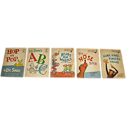 Set of Five 1st Readers for Young Children