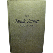 The Original 1896 Boston Cooking School Cookbook by Fannie Farmer, 1965 11th edition 3rd ...