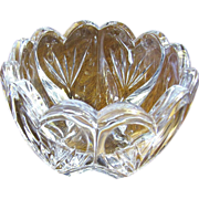 Exquisite Waterford Marquis Crystal Sweet Memories Heart Bowl.