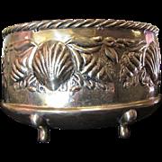 Hand Made Sea Shell Design Solid Brass Planter