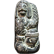 SALE South American Indian Pottery Fertility Statue