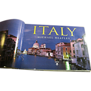 Italy by David Lyons and Michael Heatley - Coffee Table Book, Like New