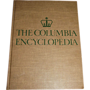 The Columbia Encyclopedia in One Volume Second Edition 1950 Very Heavy
