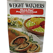 Weight Watchers' Quick Start Program Cookbook by Jean Nidetch