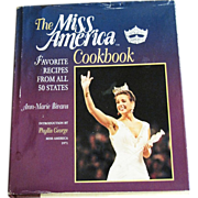 SALE The Miss America Cookbook - Favorite Recipes from all 50 states by Ann-Marie Bivans