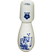 SALE 1970 World Fair, Gekkeikan Japanese Sake Bottle and Cup
