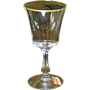 "Fostoria Richmond Wine Glass 5"", Mint"