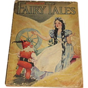 1934, Children's Fairy Tales (Grimms'), Illust'd by Goldy Young, Whitman Publishing Co.