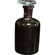 SOLD Circa 1900's, Drip by Drop Anesthesia / Laboratory Bottle