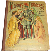 Pilgrims Progress In Words Of One Syllable by Mary Godolphin (circa 1870's) , Hurst & Company